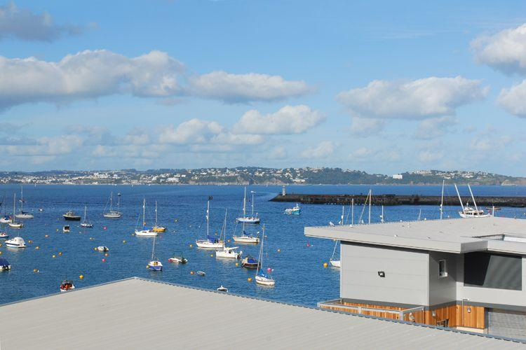 The view from the kitchen - Pilots Rest - Brixham - rentals