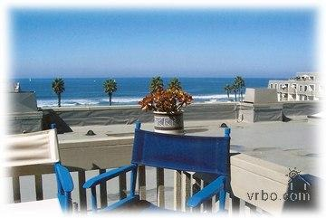 Balcony view and chairs - Ocean View & Boogie Boards, too! - Oceanside - rentals