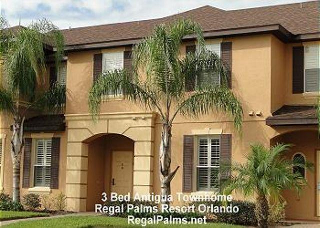 Antigua Townhome - Premium Plus 3 Bed 3 Bathupgraded Home Regal Palms  Orlando PE324PL Free WIFI - Davenport - rentals