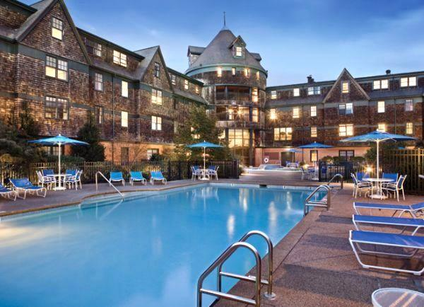 Outdoor Pool - May 22 - 29, 2015 at Long Wharf Resort, Newport, RI - Newport - rentals