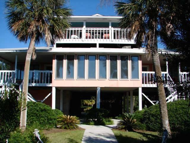 "3402 Palmetto Blvd - ""High Cotton"" - Image 1 - Edisto Beach - rentals"