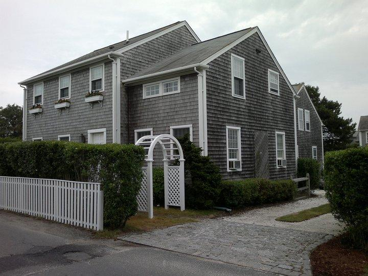 Front house from Cherry St. - 6.5 Cherry St, Town, Nantucket - Nantucket - rentals
