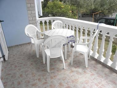 A1(2+2): covered terrace - 2600 A1(2+2) - Sveti Petar - Sveti Petar - rentals