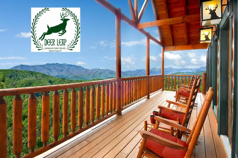 Your Smoky Mountain Vacation Destination - 25% off for remainder of 2014! DOGS OK, THEATER, HNDCP ENTRY, WIFI, PREMIER VIEW - Pigeon Forge - rentals
