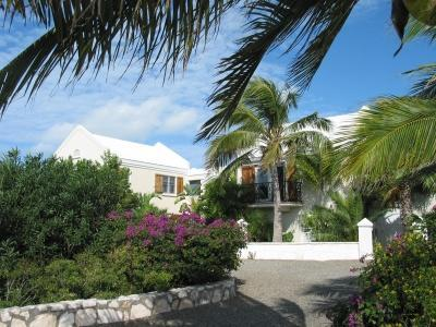 Whipspray from the front drive - Whipspray  Villa | Private Sand Beach - Providenciales - rentals