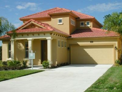 Front view of villa - Luxury 5 bedroom Contemporary home close to Disney - Davenport - rentals