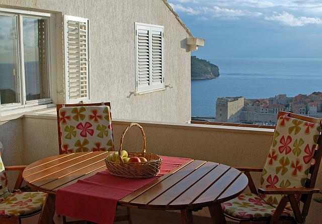 Terrace - Apartment Dea  - near Old town with amazing view - Dubrovnik - rentals