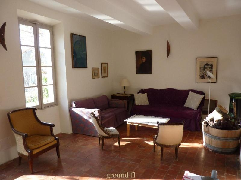 LE MAS DES BERGINES XL-13 - VINEYARD HOUSE in the heart of Provence - Vacqueyras - rentals