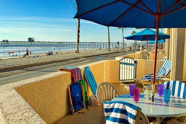 Beachside Studio - Beachfront resort with fully equipped condos steps from the Pacific Ocean - Oceanside - rentals