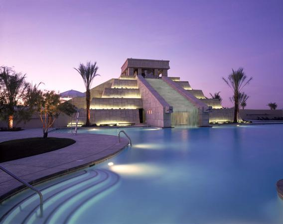 Mayan-inspired retreat with pool and waterslides three miles south of the Vegas strip - Image 1 - Las Vegas - rentals