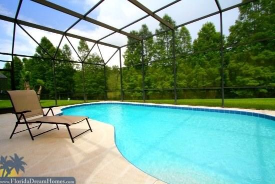 Serene Park Like Setting Right Behind Your Private Pool - 33344 - Kissimmee 3 Bedroom/2 Bathroom House - Kissimmee - rentals