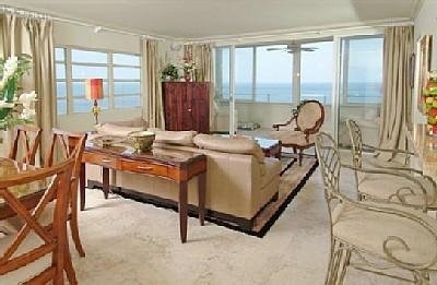 Ocean Views Front and side - Sophisticated Oceanfront Beauty!  Sleeps 6! - Fort Lauderdale - rentals