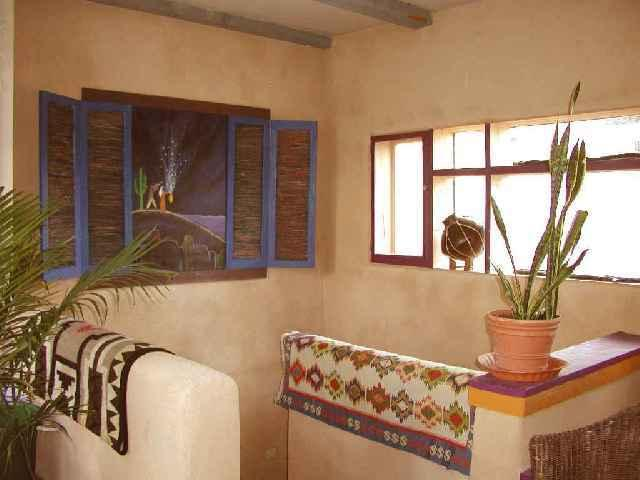Top of the landing for Blue Elk Casa 2nd story - Blue Elk Casa Up - Taos - rentals