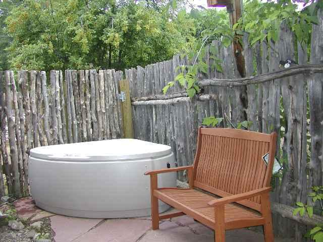 Private hot tub on back patio - Casa Encantada 3 - Taos - rentals