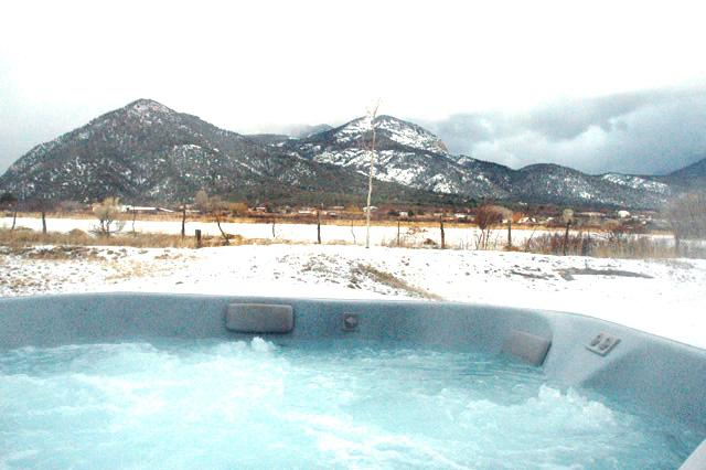 Private hot tub with mountain views - Casa Miguel - Taos - rentals