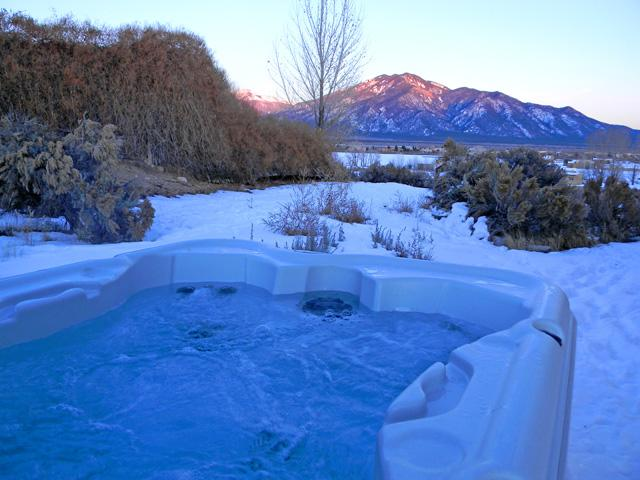 Private hot tub with mountain views - Casa Vista Grande - El Prado - rentals