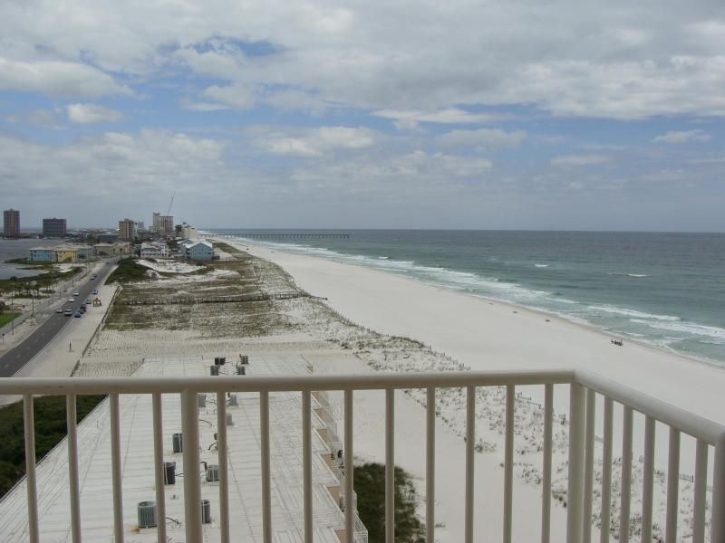 Actual view from Condo - Sans Souci 2 br 2 ba Booking Aug Free Wi-Fi - Pensacola Beach - rentals