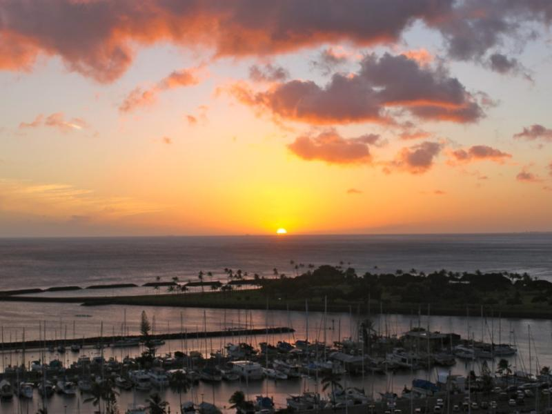 An artful view by night - Last minute special:$ 900.00  - 6 nights Sep 11-20 - Honolulu - rentals