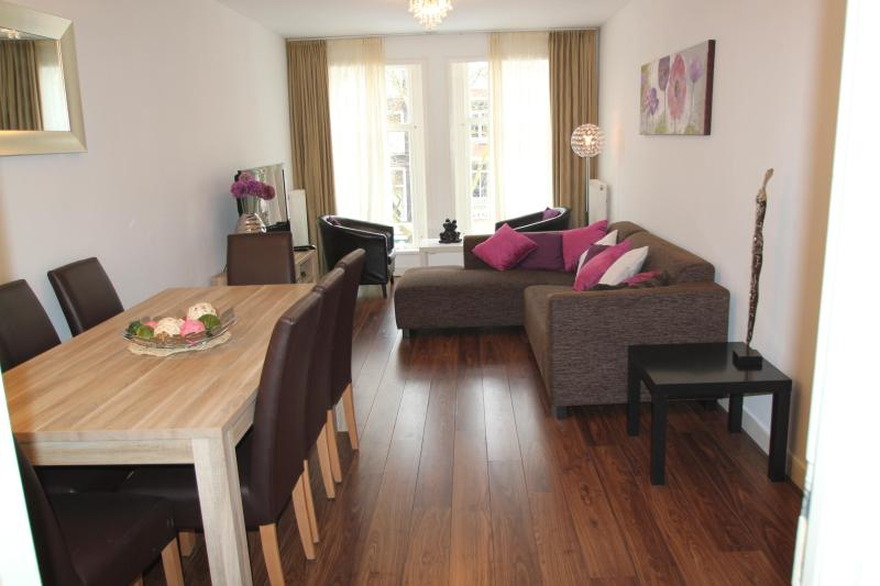 living room - Large central apartment with roof terrace, - Amsterdam - rentals