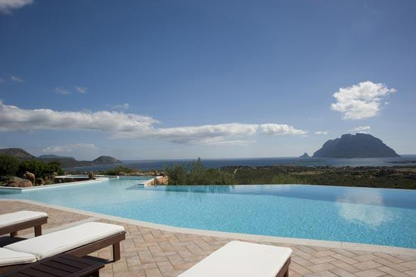 Take in the view from the huge pool! 15 minutes from Olbia airport. HII VOP - Image 1 - Sardinia - rentals