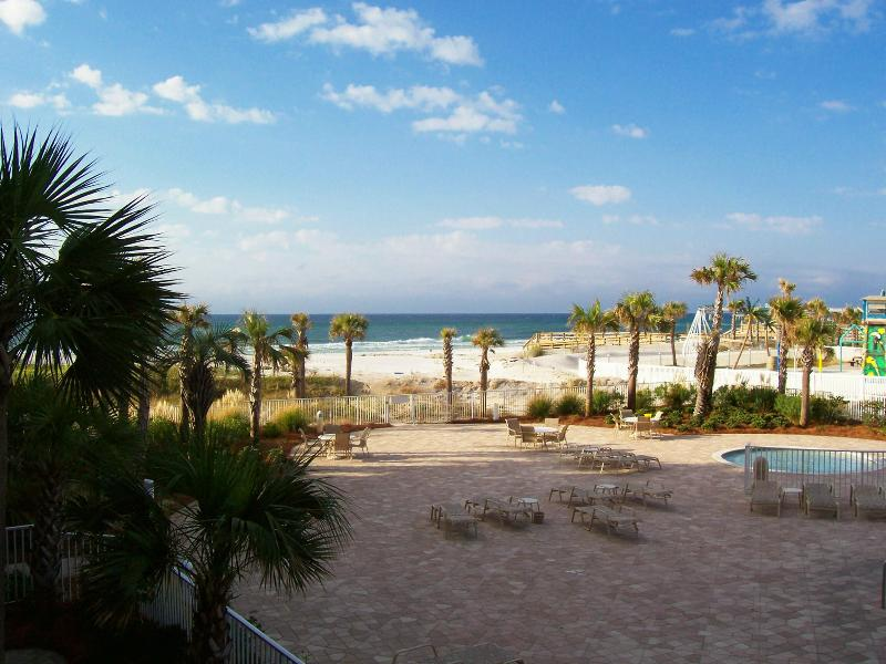 Balcony view unit 204 - Destin West Beach & Bay Resort~Gulfside Unit 204 - Fort Walton Beach - rentals
