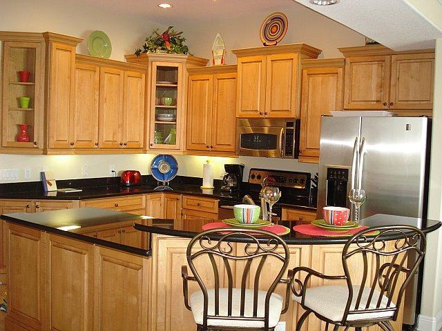 Gourmet kitchen with all the gadgets. - Spacious Townhome, Roof Terrace, Pool, Boat Slip! - Clearwater Beach - rentals