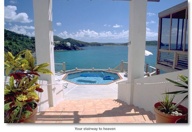 stairway - Rendezvous by the Sea -- Stairway to Heaven - Rendezvous Bay - rentals