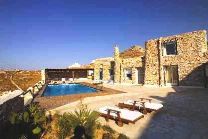 Villa Boufla with huge Jacuzzi 8 persons - Image 1 - Mykonos - rentals