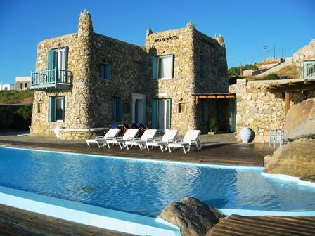 Villa Cavo Nano, right on the coast 6 bedrooms - - Image 1 - Mykonos - rentals