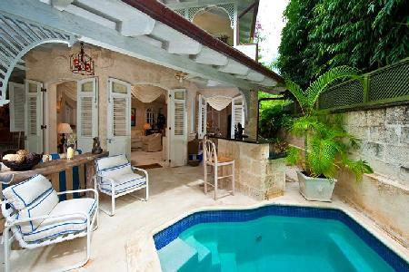 Harmony House nestled in tropical gardens on famed Gibbs Beach with pool & staff - Image 1 - Barbados - rentals