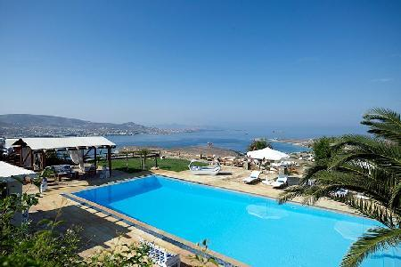 Elegant Villa Althea 2 on estate with serene sea views, chic terrace & pool - Image 1 - Parikia - rentals