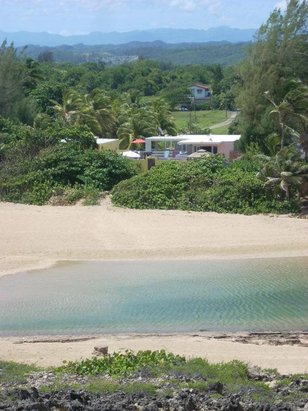 Aerial view of the house - Ocean, Pool, Privacy, Quietness, and Comfort - Arecibo - rentals