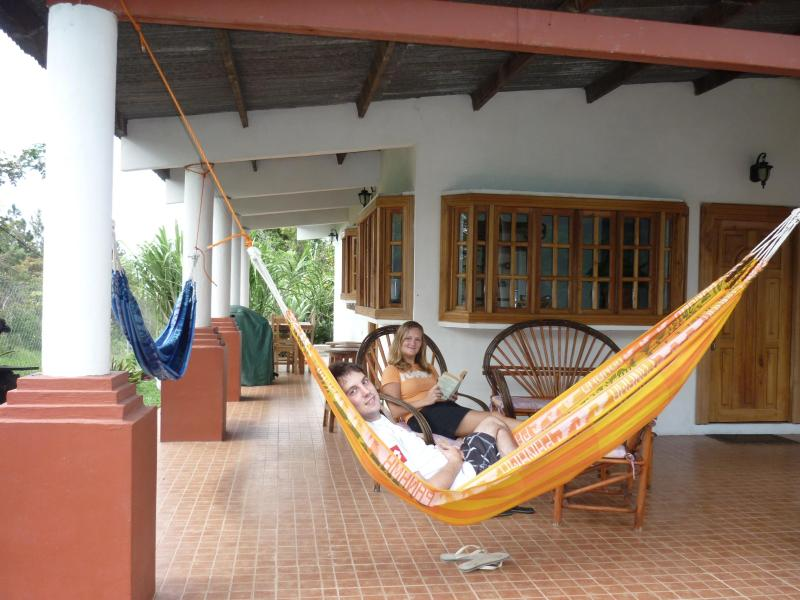 Front of the house - House in Alto Boquete with full service! - Boquete - rentals