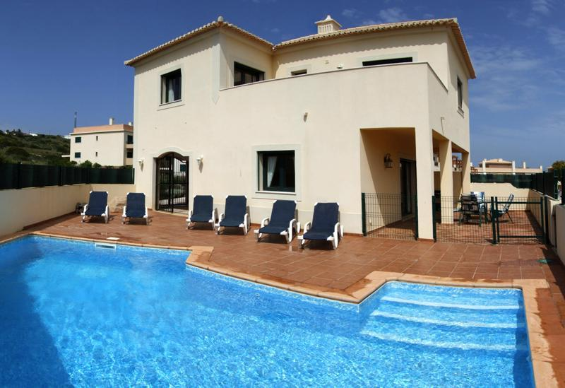 pool - lovely 2 bed villa  private corner plot free wifi - Burgau - rentals