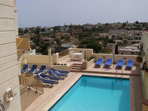 Pool Area - Malta Holiday villa with swimming pool and seaview - Mellieha - rentals