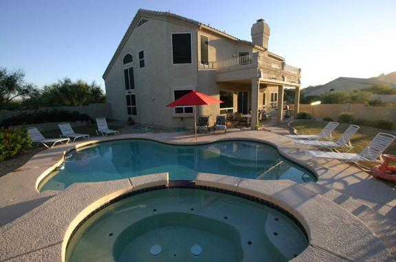 Large home includes private pool and hot tub - Large 5BR/3BA North Scottsdale Home w/ Pool & Spa - Scottsdale - rentals
