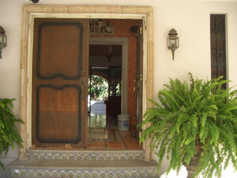 Front door to the house - Luxurious Mexican Hacienda - Ajijic - rentals