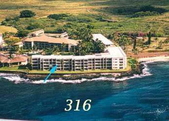 Any closer and you would be wet... - Gorgeous OceanFront Honeymoon Suite @ Kuhio Shores - Poipu - rentals