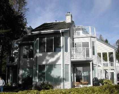 Our condo is upstairs - WOW! 3 Bedroom 2  Bath Condo on Spectacular Beach - Parksville - rentals
