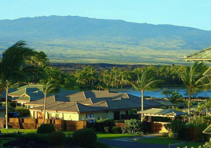 Lanai View of water and mountain.JPG - Award Winner 2013 Kolea 11F Penthouse Water  Views - Waikoloa - rentals