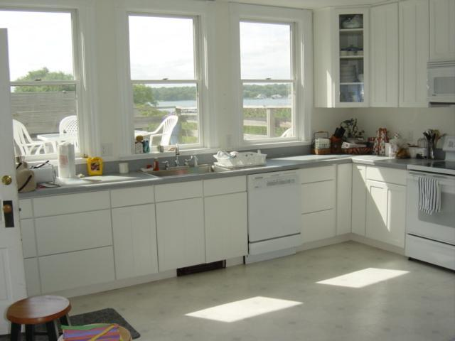 Renovated kitchen - 6 Bedroom Victorian House with Great Water View - Stonington - rentals