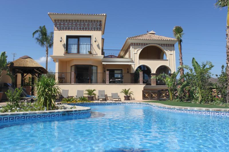 Villa from heated salt water pool (14m x11m max). - Outstanding luxury 5-bed villa near Marbella - Marbella - rentals
