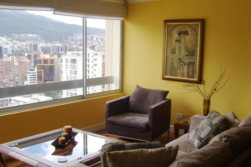 Formal Living Room - Beautiful Centrally Located Apartment in Quito - Quito - rentals