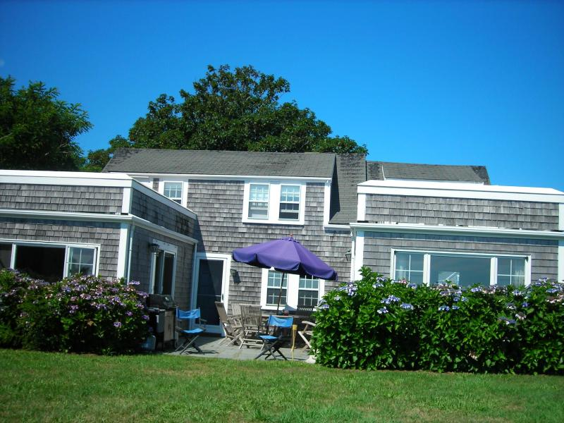 Ocean side of House - Beachfront Siasconset 5 Bedroom house on Bluff - Nantucket - rentals