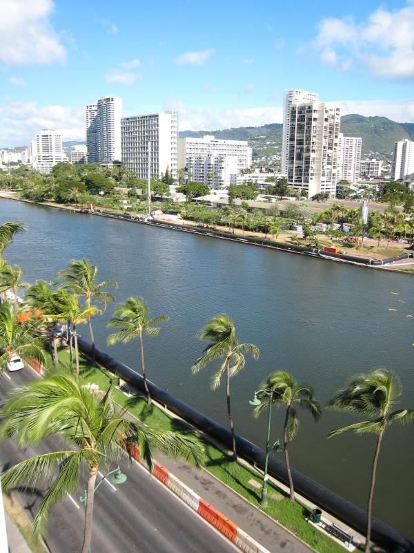 View from private balcony - Aloha Waikiki - Delightful Condo with a View - Honolulu - rentals