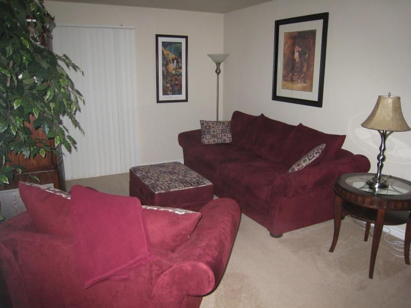 Extremely comfortable sofa & chair - Amore Condo for Lovers - Las Vegas - rentals
