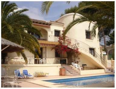 Las Palmeras - Lovely  villa, 5 bedrooms, private pool, nr beach - Moraira - rentals