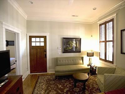 Inside looking at the front door. - Newly Renovated Executive Downtown 2 Bedroom - Charleston - rentals