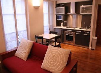 Living - One bedroom Paris apartment in St Germain Des Pres - Paris - rentals