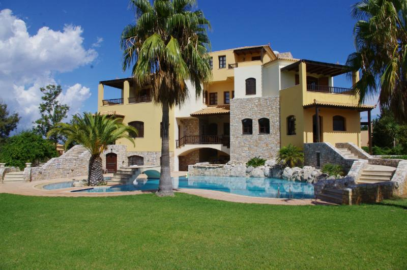 Villa Natali, a 5 star villa with 8 bedrooms - Image 1 - Maleme - rentals